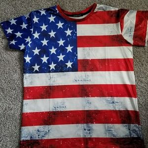 🌟🇺🇸 Brand New American Flag T-Shirt 🇺🇸🌟
